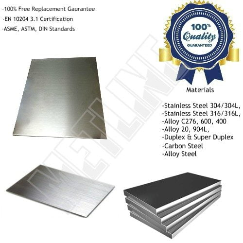 Nickel Alloy Sheets, Plates, Suppliers